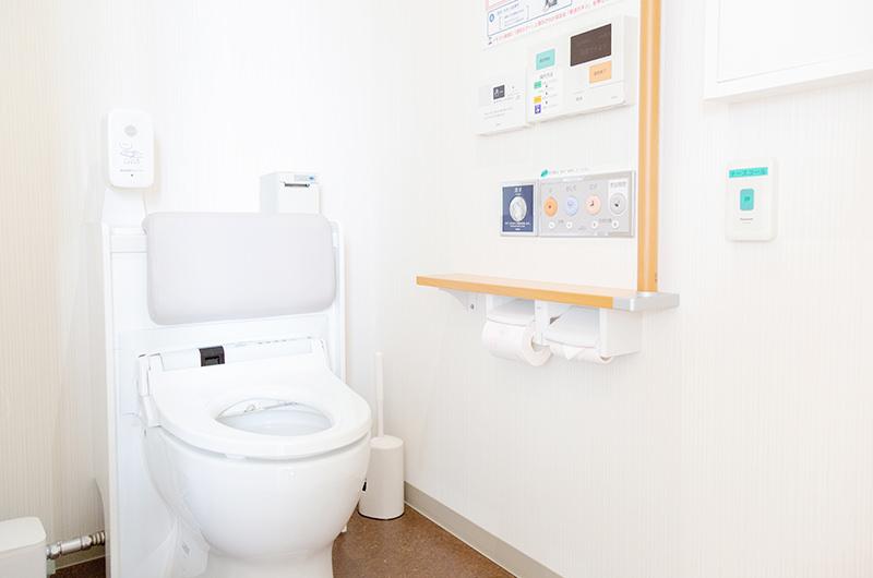 女性専用トイレに尿流測定装置を設置